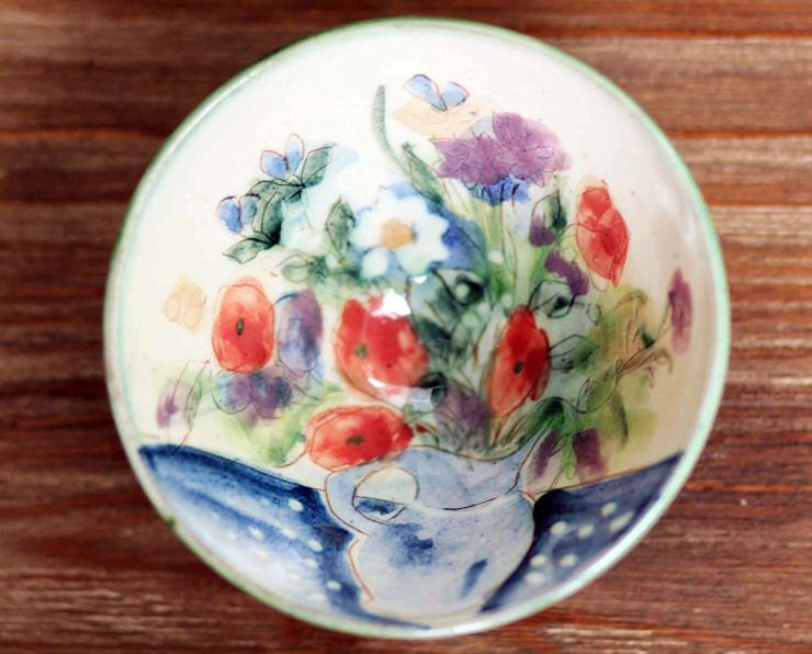 Hand Painted Bowl: country  by DesignRaaga, Country
