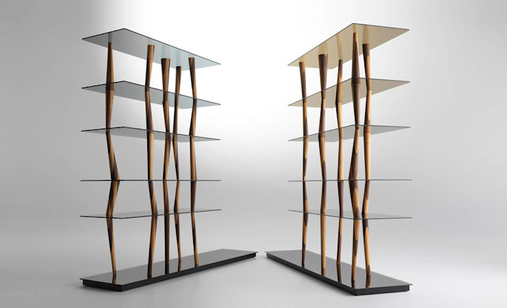 SENDAI CRYSTAL Librería de HORM.IT Moderno