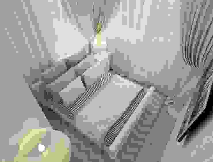 коттежд Спальня в стиле кантри от The Аrt of interior from Olga Kalinina Кантри