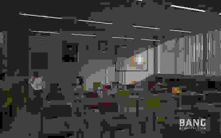 Vista del maestro en el salón de BANG arquitectura