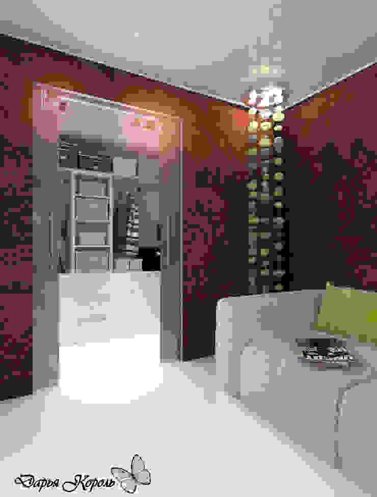 Apartment in paisley. Kitchen, living room, hallway Гардеробная в стиле минимализм от Your royal design Минимализм