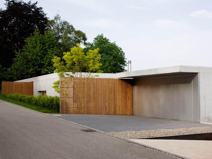 Maison Gauthier I Leubringen I Schweiz bauzeit architekten