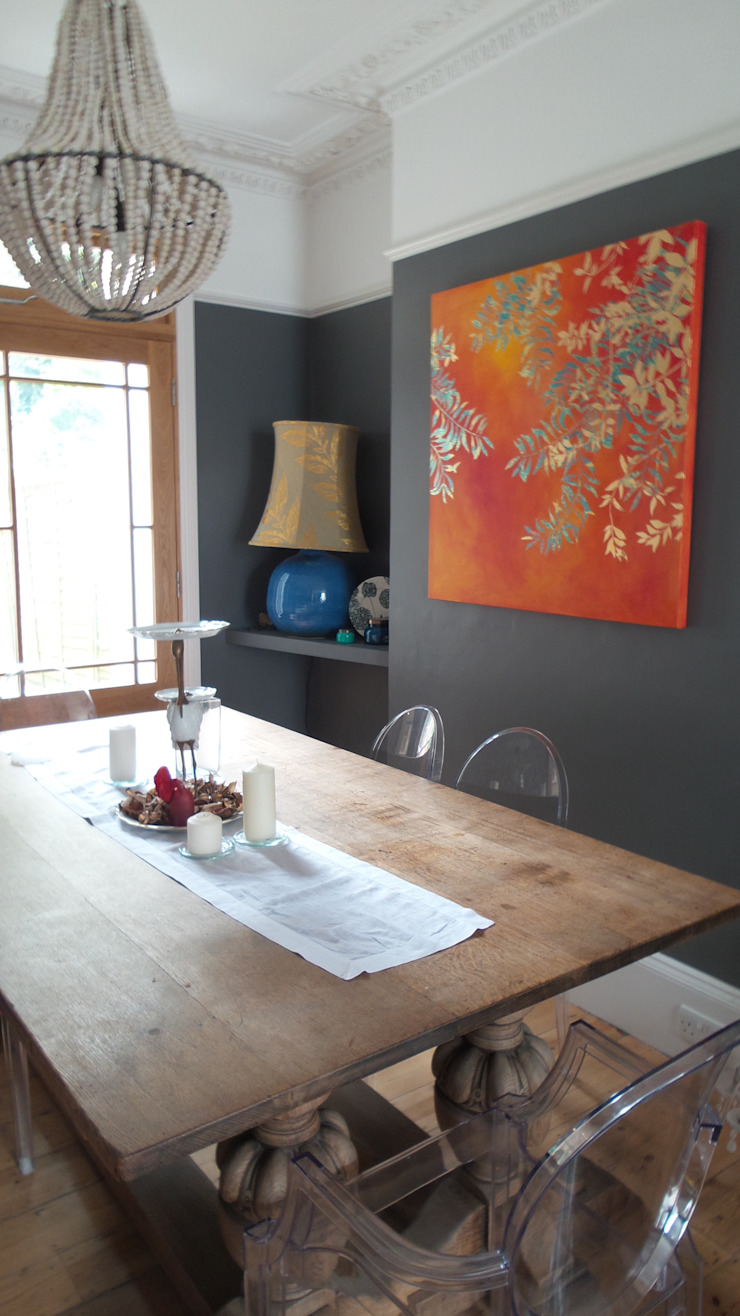 dining room: eclectic  by velvet eccentric interiors, Eclectic