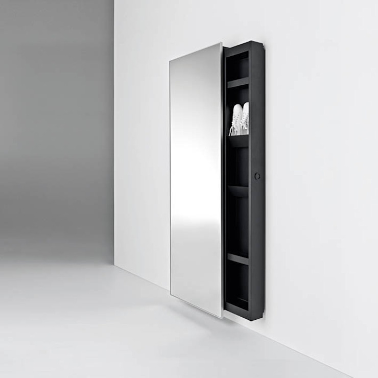 BACKSTAGE Mirror / Storage unit por HORM.IT Moderno
