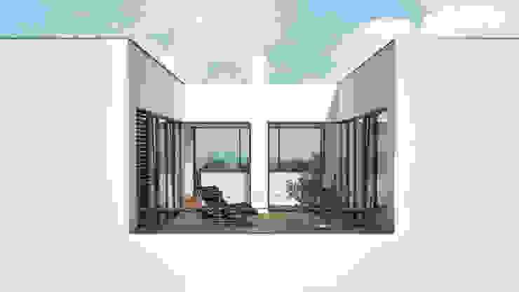 RTW Architekten Balkon, Beranda & Teras Modern