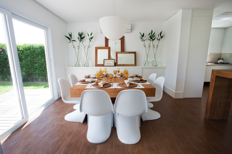 Tweedie+Pasquali Tropical style dining room