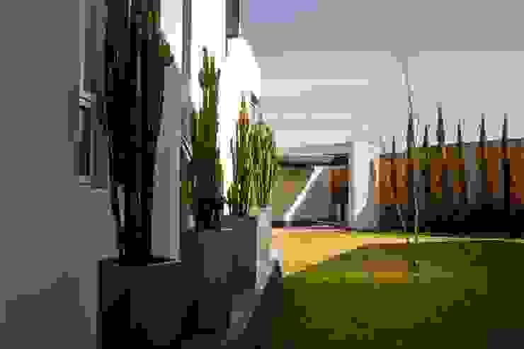 Acceso a Jardín Jardines modernos de GRUPO VOLTA Moderno