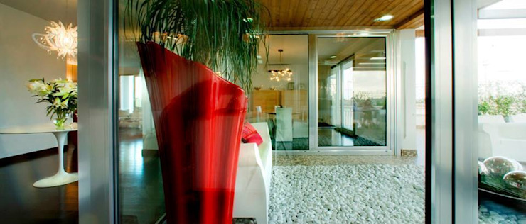 Balcon, Veranda & Terrasse modernes par studiozero Moderne