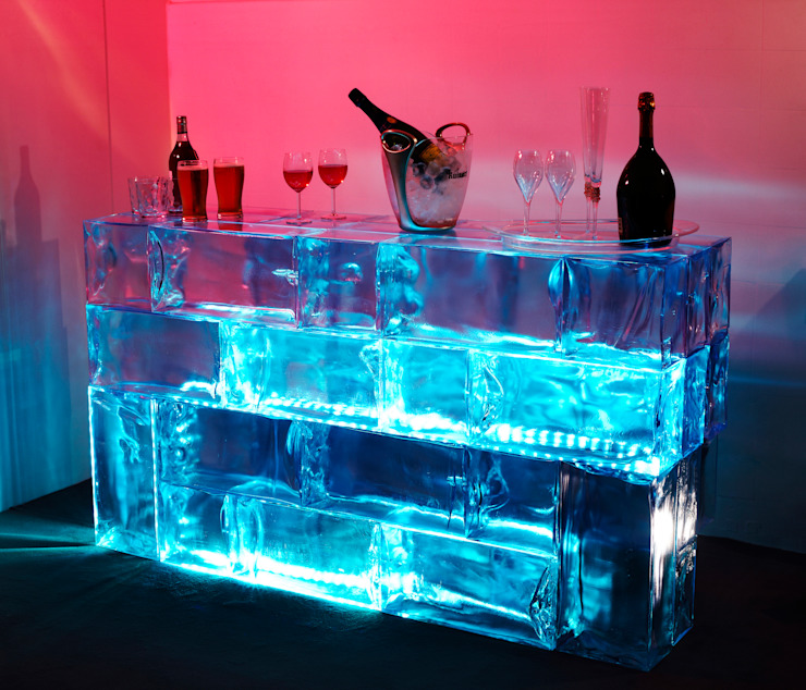 """Ice"" bar Modern bars & clubs by LK Trading ltd/ Icefery Modern"
