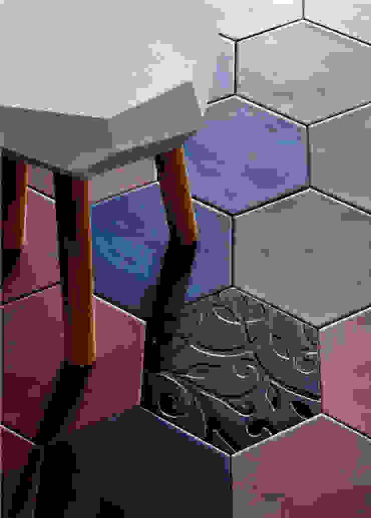 Pavimentos Paredes y suelos de estilo tropical de Ceramistas s.a.u. Tropical
