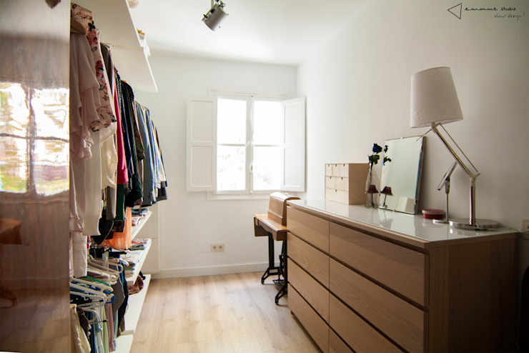 Dressing room by emmme studio,