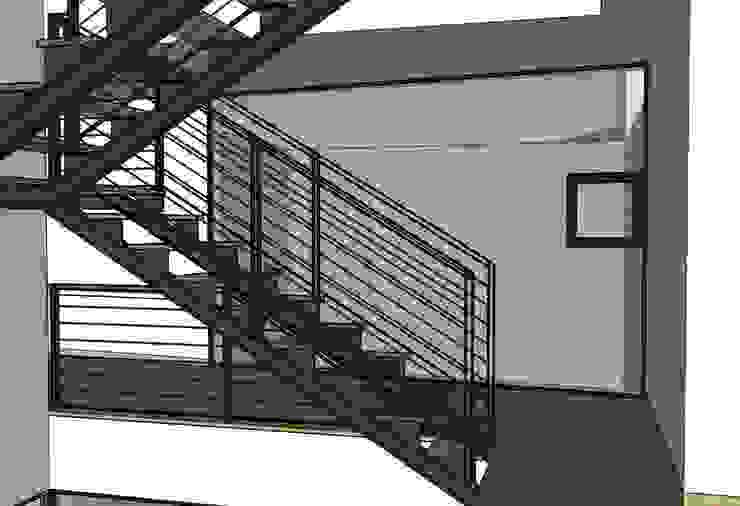 casa en El Atabal Casas de estilo moderno de Alejandro Ramos Alvelo / arquitecto Moderno