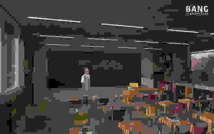 Vista del alumno en el salón de BANG arquitectura