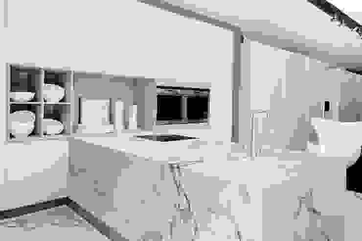Encimera Aura Cocinas de estilo moderno de lledo Moderno