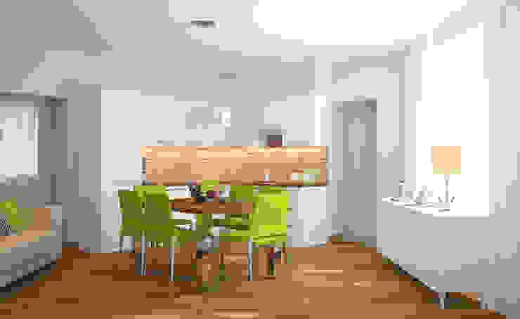 Кухня - столовая Кухня в стиле лофт от Универсальная история Лофт
