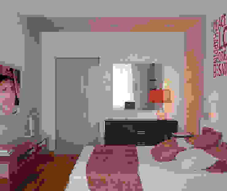 Спальня Спальня в стиле лофт от Универсальная история Лофт