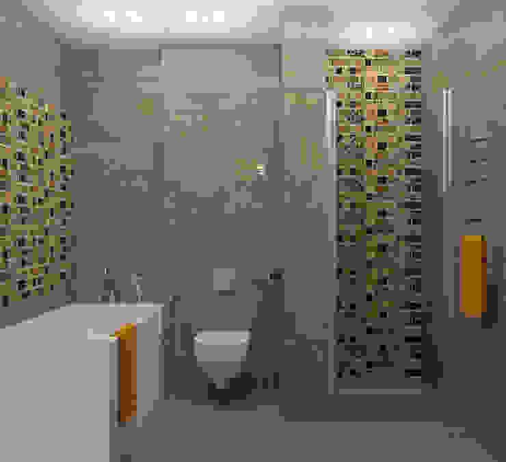 Ванная Ванная в стиле лофт от Универсальная история Лофт