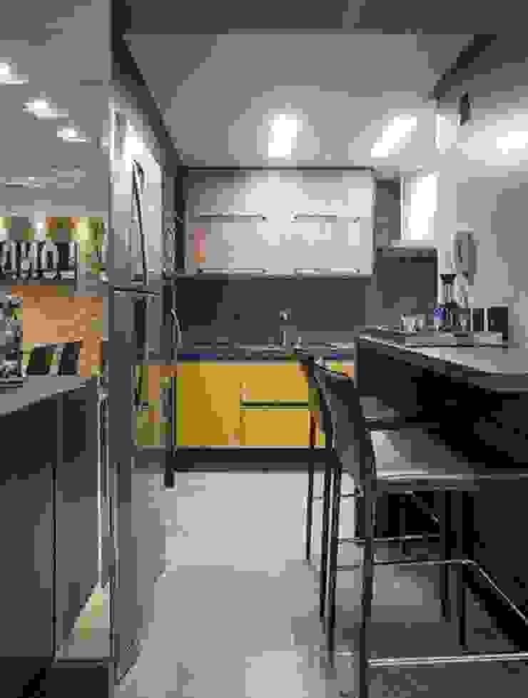 apartamento residencial Cozinhas modernas por Adriane Cesa Arquitetura Moderno