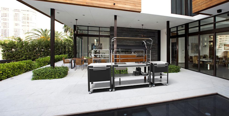 "Schiffini ""Satellite"" Outdoor Kitchen by Riccardo Randi"