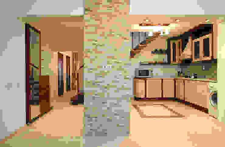 Интерьер загородного дома Коридор, прихожая и лестница в стиле кантри от Наталья Дубовая Charman-design Кантри