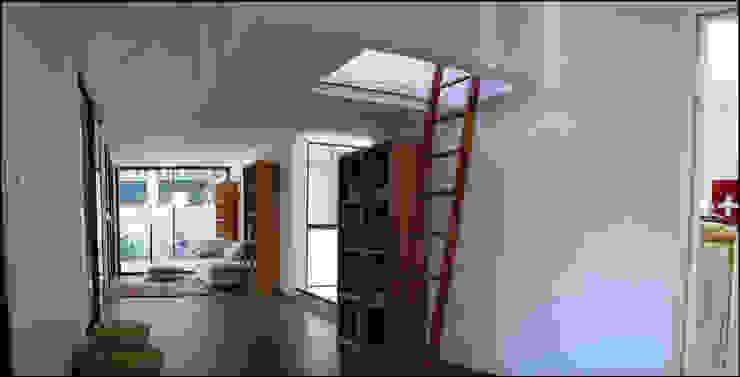 intérieur drophouse Salon moderne par D3 architectes Moderne