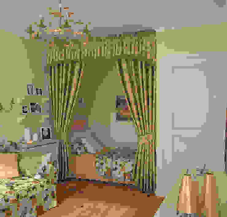 Спальня в стиле Французский прованс Спальня в стиле кантри от Универсальная история Кантри