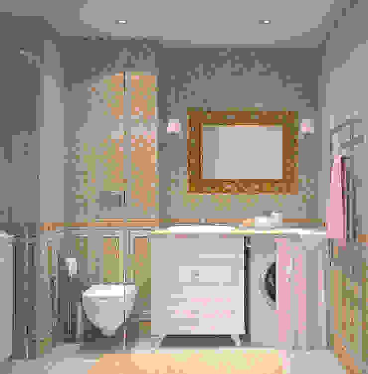 Ванная в стиле Французский прованс Ванная комната в стиле кантри от Универсальная история Кантри