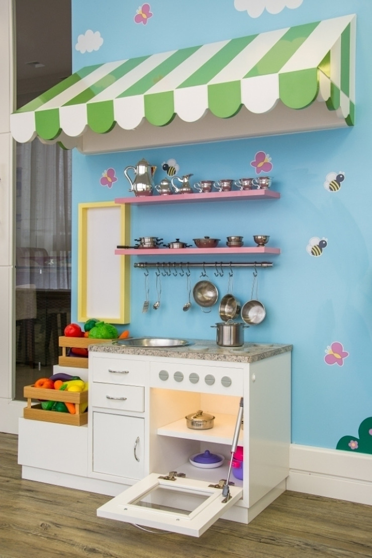 Moderne Kinderzimmer von Carolina Burin Arquitetura Ltda Modern