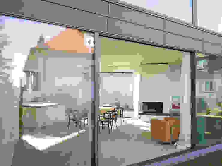 Haus K2 Minimalistische Esszimmer von Bottega + Ehrhardt Architekten GmbH Minimalistisch