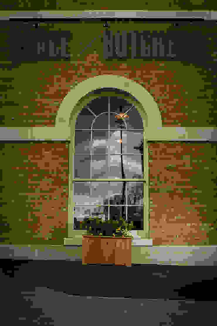 Brace of Butchers—Planters installation.: modern  by The Dorset Planter Co., Modern