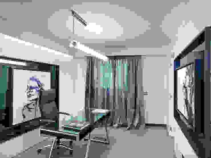 Villa Alexandra, CANNES Modern study/office by SoFarSoNear Modern