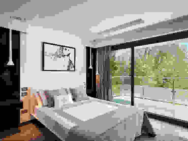 Villa Alexandra, CANNES Modern style bedroom by SoFarSoNear Modern