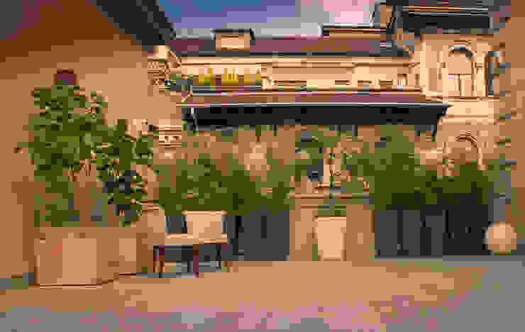 Balcones y terrazas de estilo minimalista de Neò Natura su misura Minimalista