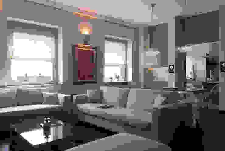 soggiorno con zona pranzo Soggiorno moderno di Gaia Brunello | in-photo Moderno