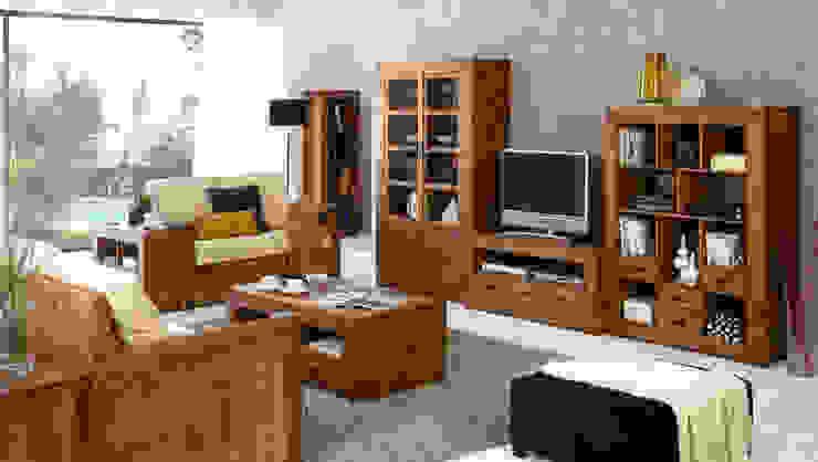 Salón de mueble rústico de Decorustico Internet Rústico