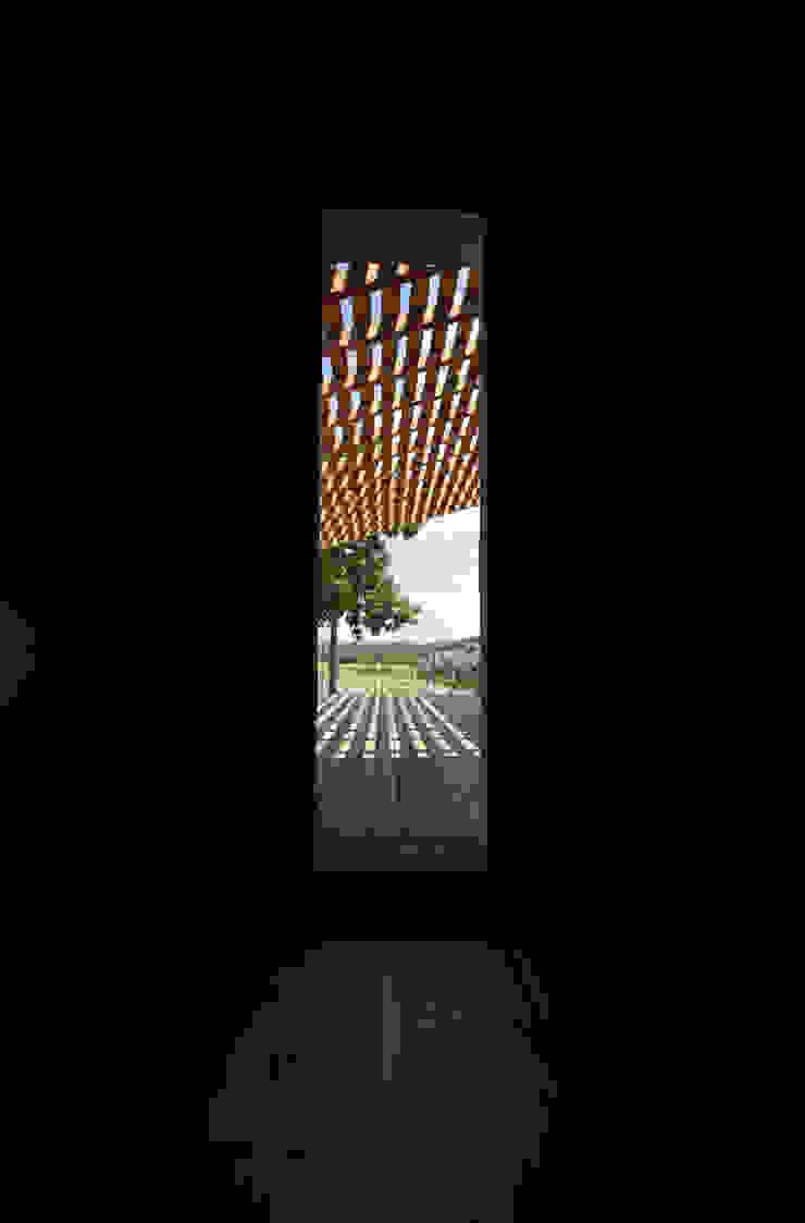 Ristrutturazione ed ampliamento di un fabbricato rurale a Suvereto (LI) mc2 architettura Finestre & Porte in stile mediterraneo