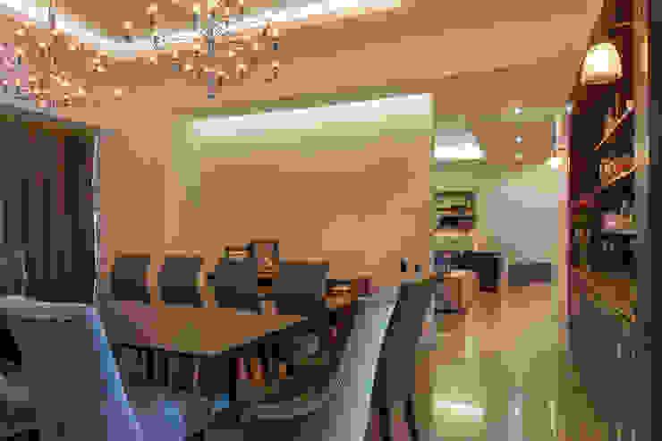 Departamento GC Comedores modernos de kababie arquitectos Moderno