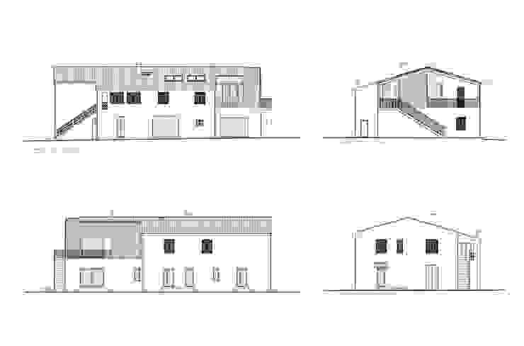 Ristrutturazione ed ampliamento di un fabbricato rurale a Suvereto (LI) mc2 architettura