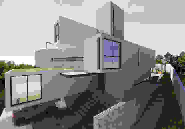 Casa Contêiner Casas modernas por K+S arquitetos associados Moderno