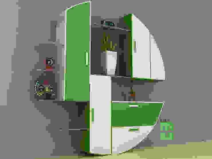 wall unit: minimalist  by 3F Architects,Minimalist