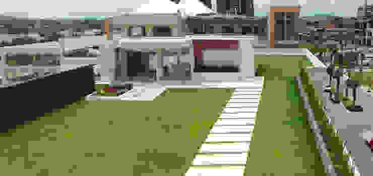 Roof Garden Sonata de ENVERDE Moderno