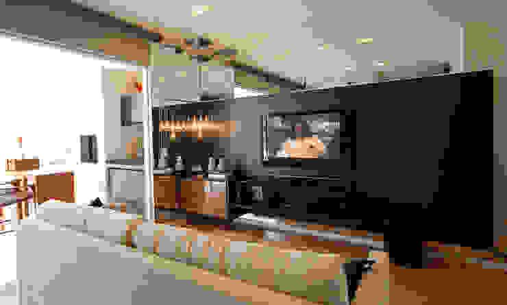 Modern media room by Neoarch Modern