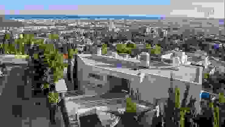 Fachada Casas de estilo minimalista de Per Hansen Minimalista