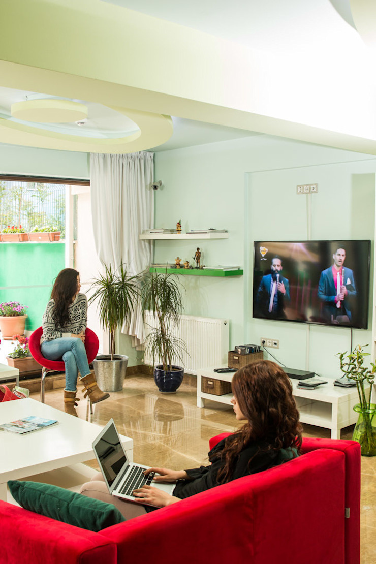 İç Mekan Mimari Fotoğraf Çekimleri Modern Oturma Odası NK Fotoğraf ve Video Prodüksiyon Modern