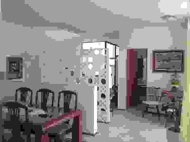 residência em sorocaba Salas de jantar modernas por nzaa arquitetura e urbanismo Moderno