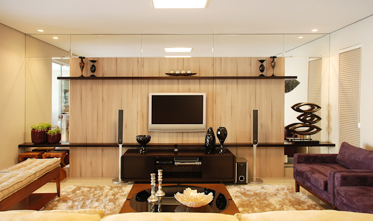 Home Theater por Neoarch Moderno