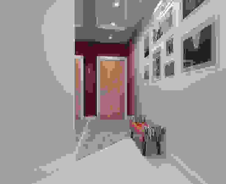 Minimalist corridor, hallway & stairs by Tutto design Minimalist