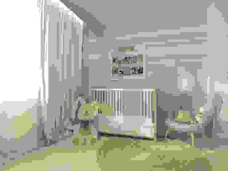 Квартира в ЖК Антарес.: Детские комнаты в . Автор – Tutto design,