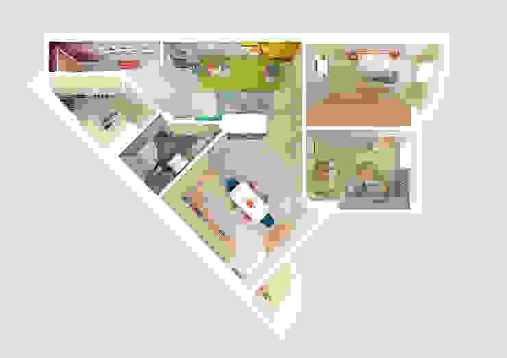 Квартира в ЖК Антарес. от Tutto design