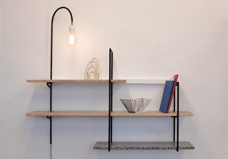 Good Morning Design Living roomShelves